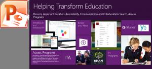 Helping transform education