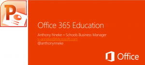 Office 365 in education