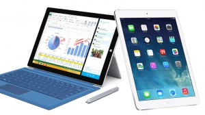 Surface Pro 3 and the iPad Air