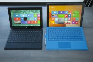 Surface Pro 2 vs Surface Pro 3