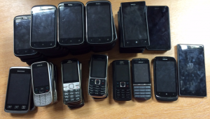 Phones Donated from TIO