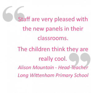 Long Wittenham C E Primary Installation Testimonial