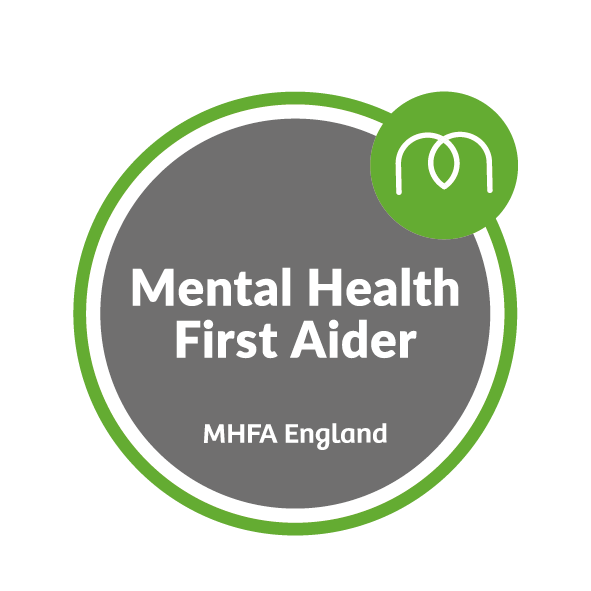 mental health first aider badge